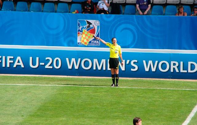 Yolanda Parga será asistente en el Mundial de Canadá