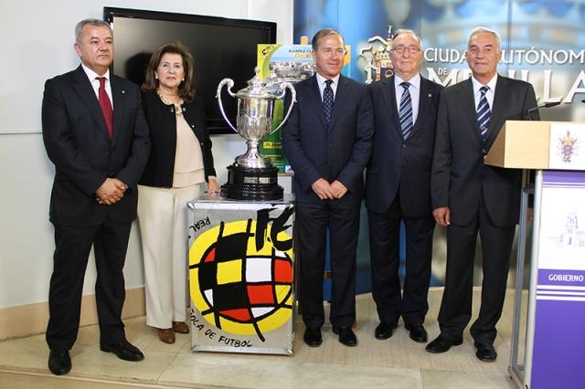 Melilla ya espera a la Copa de la Reina