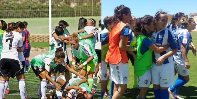 Sporting y Valencia, finalistas de la Copa de la Reina