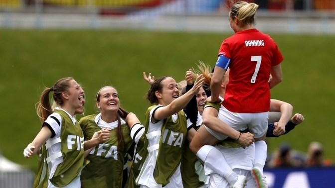 Noruega arrolla a la débil Tailandia (4-0)