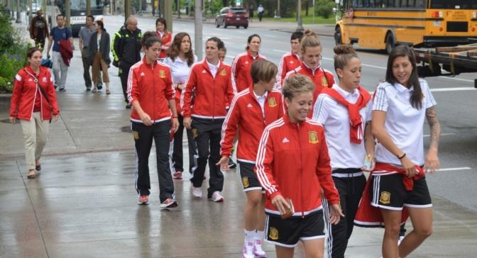 La Selección llega a España el sábado en dos vuelos diferentes