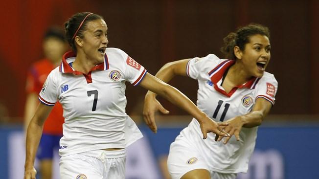 Costa Rica empata a Corea in extremis (2-2)