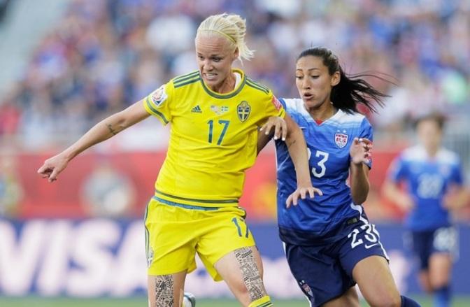 Suecia neutraliza a Estados Unidos (0-0)