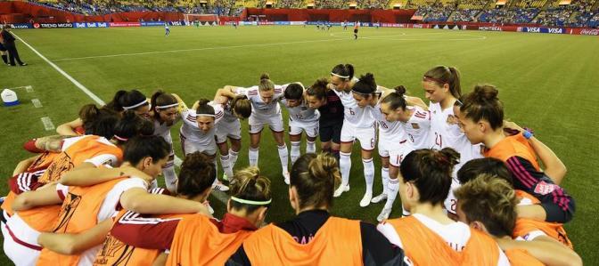 Foto @sefutbol: la Selección española, una piña
