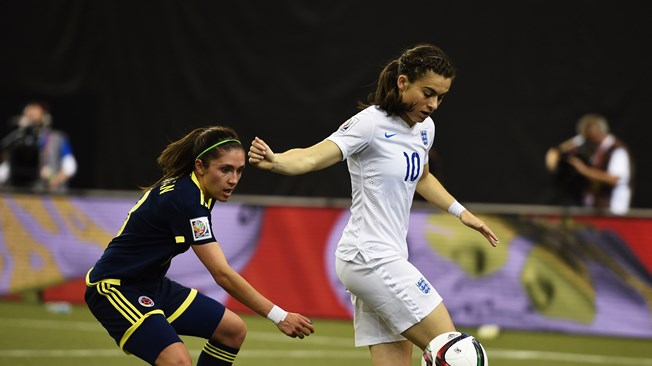 La trabajada victoria de Inglaterra ante Colombia clasifica a ambas (2-1)