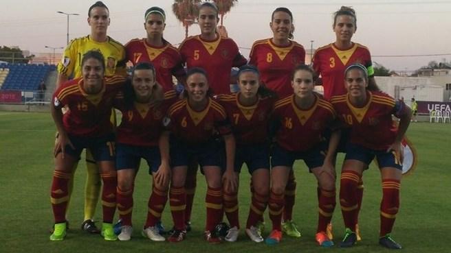 La sub-19 debuta en el Europeo con goleada ante Noruega (4-0)