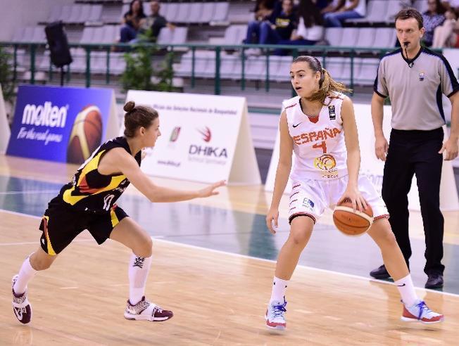 La Selección de baloncesto sub-16 alcanza las semis del Europeo