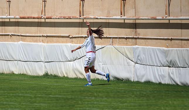 Foto www.aupaalba.es: Alba Redondo, autora del gol decisivo en la victoria del loco Albacete Nexus Femenino-Oiartzun KE (4-3).