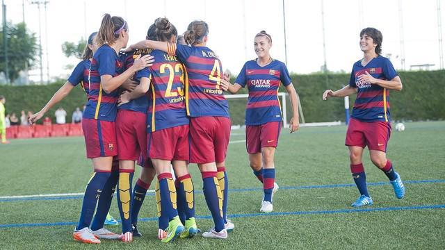 Jenni Hermoso lidera la imponente goleada del Barça al Levante (7-1)