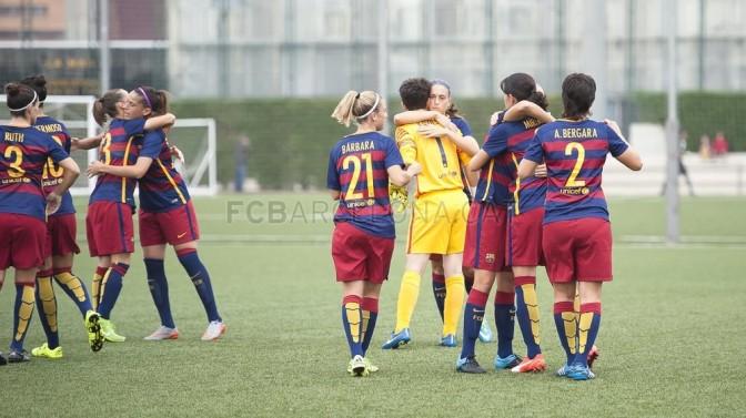 El Barça se lleva el partido en la segunda parte (2-0)