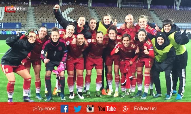 Victoria de la Selección en el primer partido clasificatorio para la Euro 2017