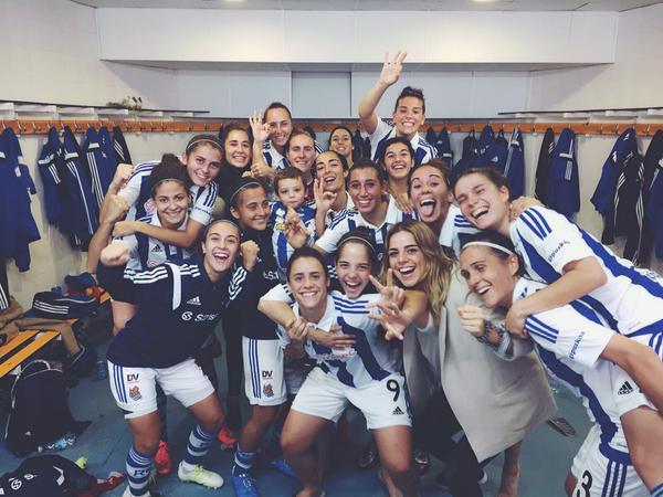 La Real Sociedad golea en el derbi vasco ante el Oiartzun (3-0)