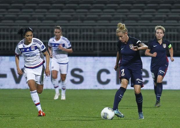 El Atlético Féminas termina su Champions en Gerland (6-0)