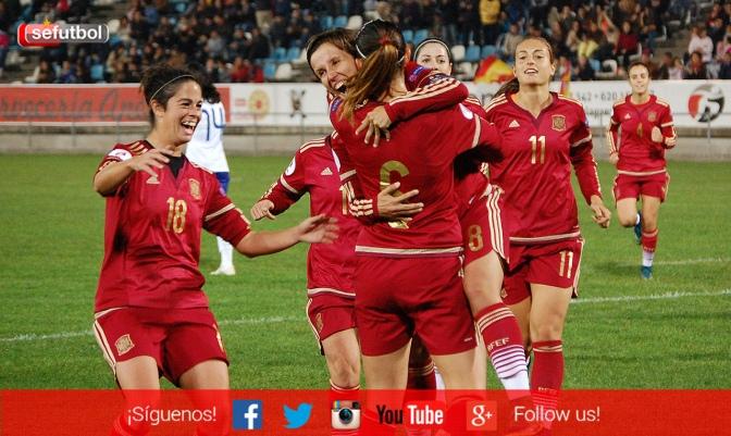 Foto www.sefutbol.com: España vence a Portugal (2-0).