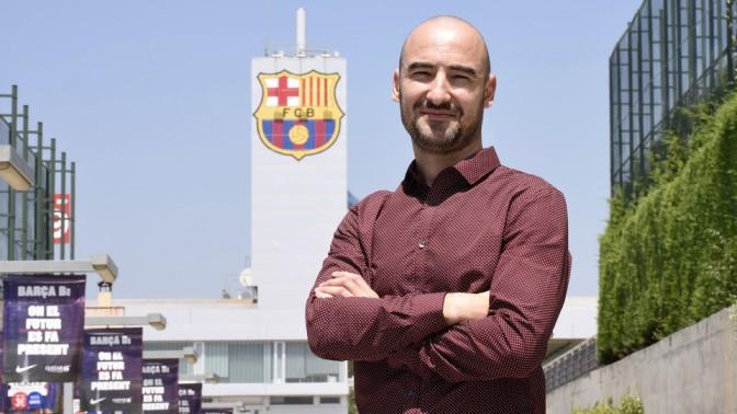 Fran Sánchez, nuevo técnico del Barcelona