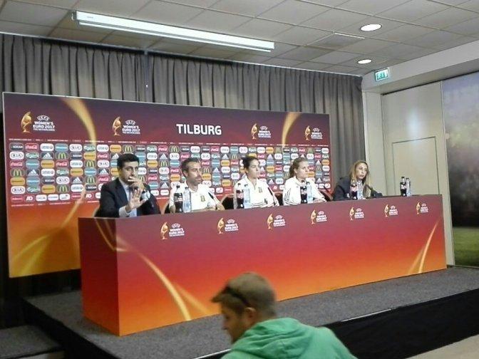 """Jorge Vilda: """"Estar entre los 4 mejores de Europa sería un gran salto. Sabemos de esta responsabilidad"""""""