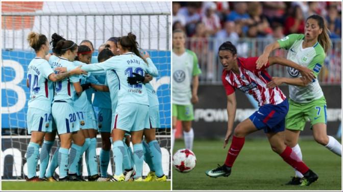 Cara y cruz para Barcelona y Atlético en la Champions